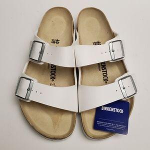 Birkenstock Arizona White Sandals 40